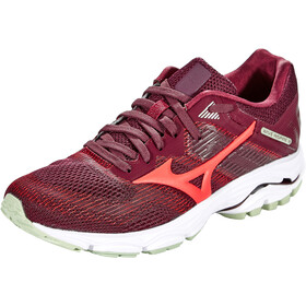 Mizuno Wave Inspire 16 Running Shoes Women mauve wine/cayenne/bok choy